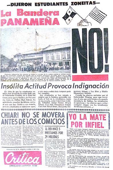 Crítica Jueves 9 De Enero De 1964